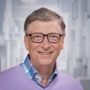 Bill Gates — an introverted leader